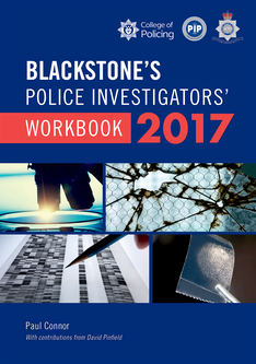 Blackstone's Police Investigators' Workbook 2017