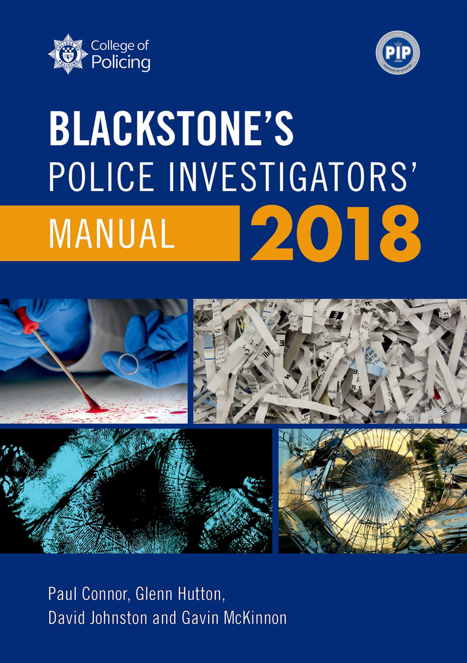 Blackstone's Police Investigators' Manual 2018$