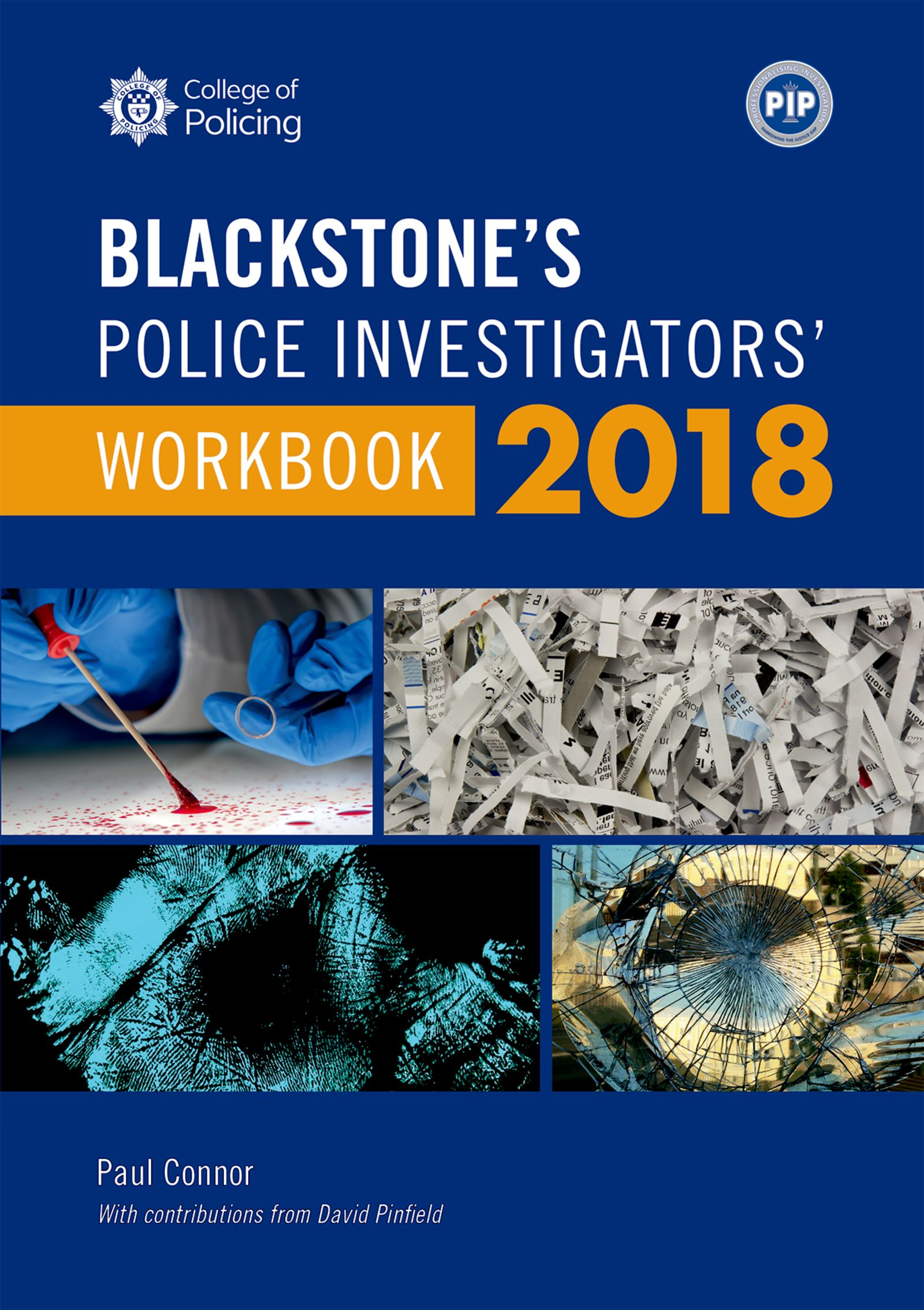 Blackstone's Police Investigators' Workbook 2018